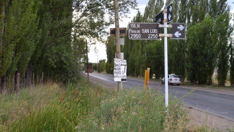 El raid de locura del menor terminó en el cruce de la Circunvalación Illia y la calle San Luis.