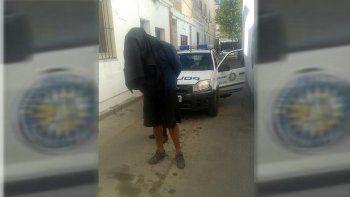 la policia detuvo a un peligroso motochorro tras cometer dos robos en el parque rosauer
