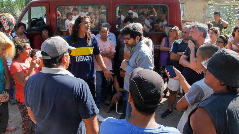 En la toma La Cascada esperan avanzar en la compra de las tierras en la mediación que propuso el fiscal Gustavo Herrera.