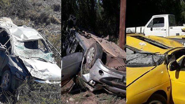 Madrugada trágica: tres personas murieron en una noche en múltiples accidentes de tránsito
