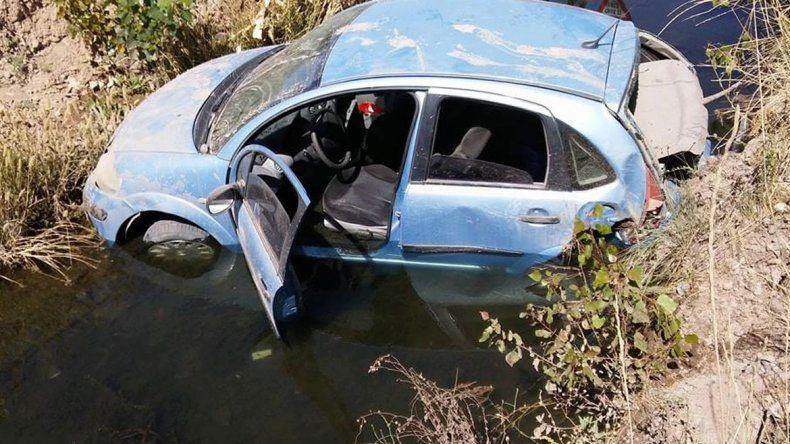 El accidente ocurrió en el cruce de las circunvalaciones Perón e Illia.