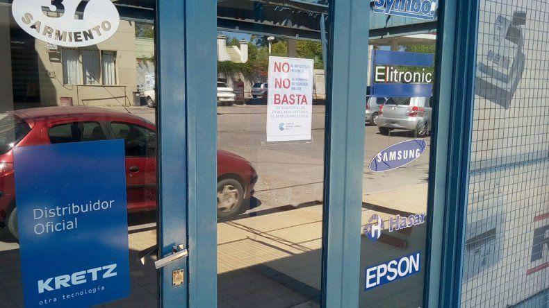 Los comerciantes le dicen BASTA a los impuestazos