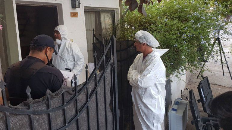 El peritaje fue realizado por miembros del cuerpo forense de la Fiscalía.