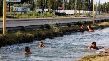 Los canales son el refugio preferido de los cipoleños.