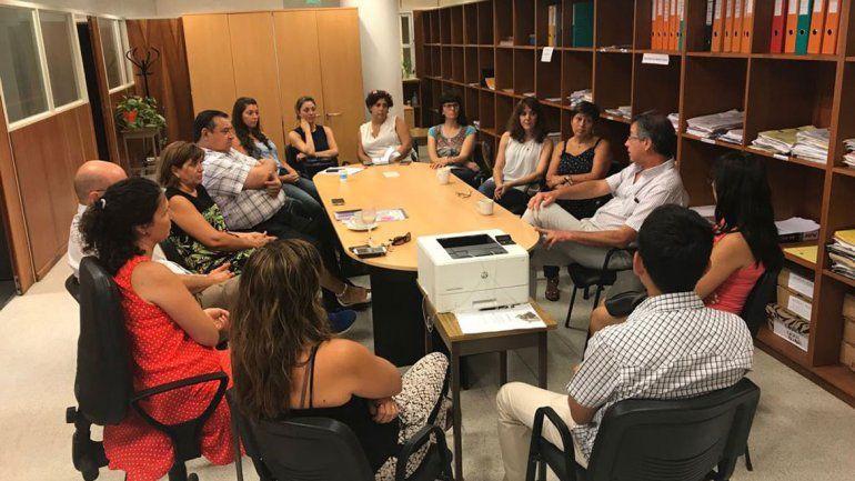 El procurador Jorge Crespo presidió una reunión en General Roca.