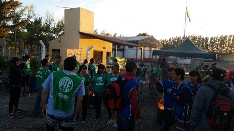 ATE Río Negro bloquea las aduanas por el conflicto con Senasa