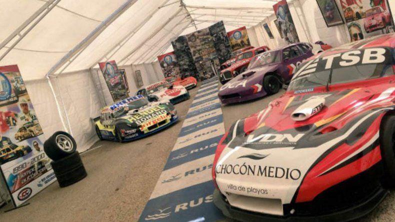 En el balneario Las Grutas se exhibe un museo con autos históricos de la categoría.