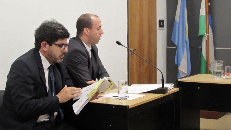 El fiscal Herrera advirtió que el delincuente mintió en la audiencia.