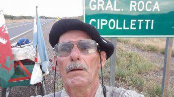 El abuelito viajero: de Ushuaia a Alaska a pie