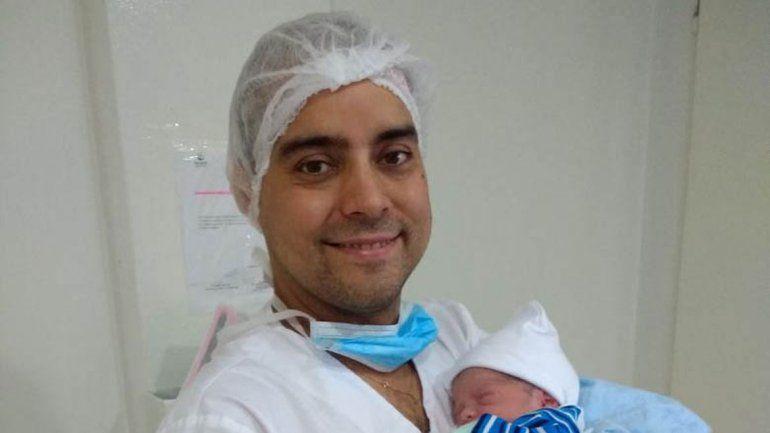 Paolo fue papá hace dos semanas de un varón. Ya tenía dos nenas.
