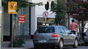 El nuevo esquema para estacionar en el centro generó polémica.
