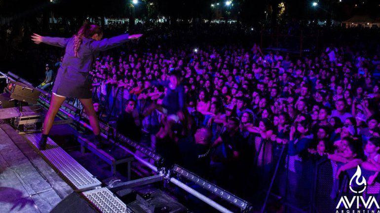 El festival convocó a una multitud en la zona norte de la ciudad.