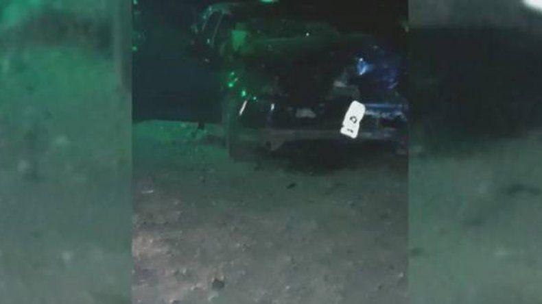 Una familia cipoleña chocó de frente con un patrullero cuando volvían de Las Grutas
