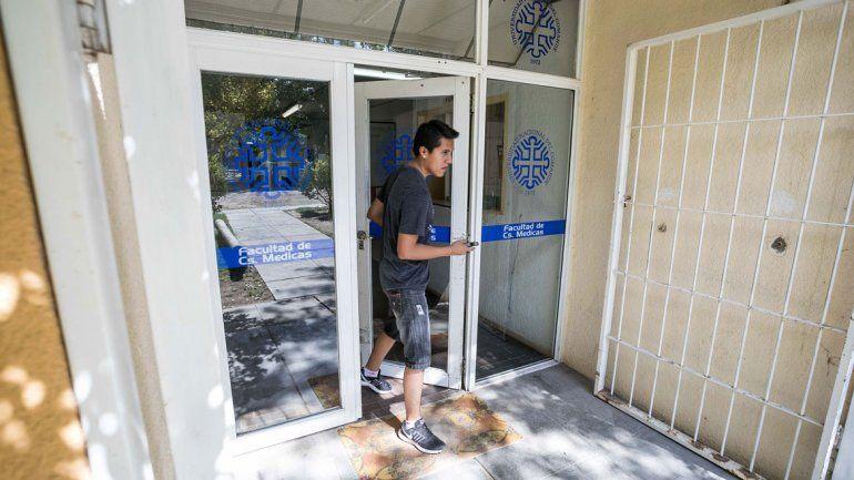 La facultad cipoleña es la más buscada por los nuevos alumnos. Tiene sedes en la calle Toschi y el barrio Los Tordos.