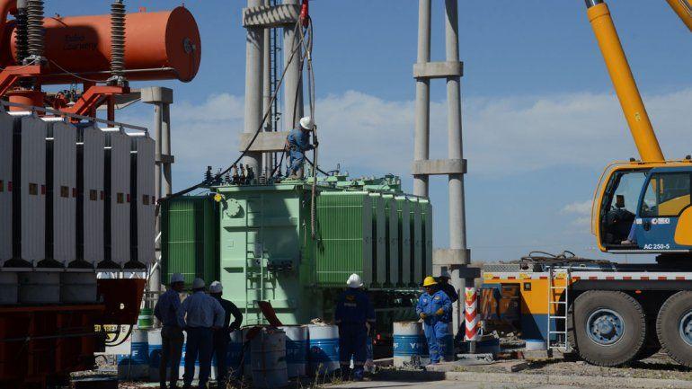 El transformador fue trasladado desde una central neuquina.