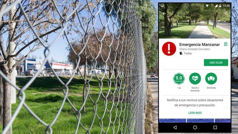 Ahora, el barrio El Manzanar tienen una app antichorros que cuesta más de 500 pesos