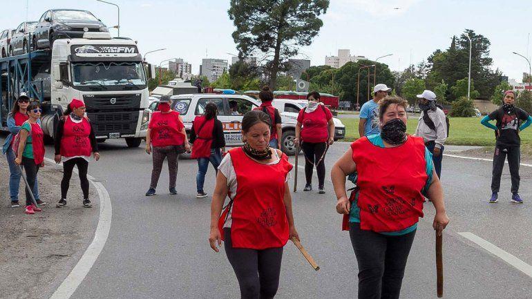 El Frente Popular Darío Santillán volverá a manifestarse en los puentes. Si Gendarmería impide el corte