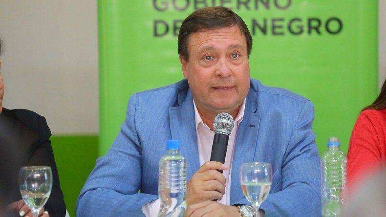 Weretilneck ratificó que no se puede pagar más del 15 por ciento.