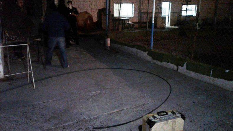 Un adolescente murió electrocutado mientras jugaba al fútbol en San Antonio Oeste