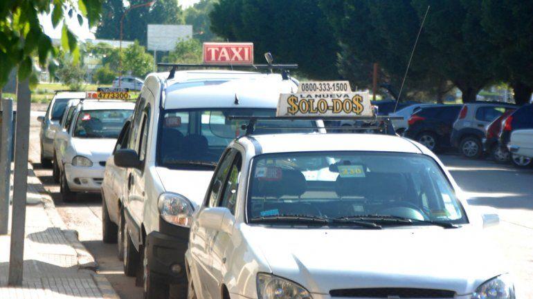 El taxi robado prestaba servicios en la base de Solo Dos.