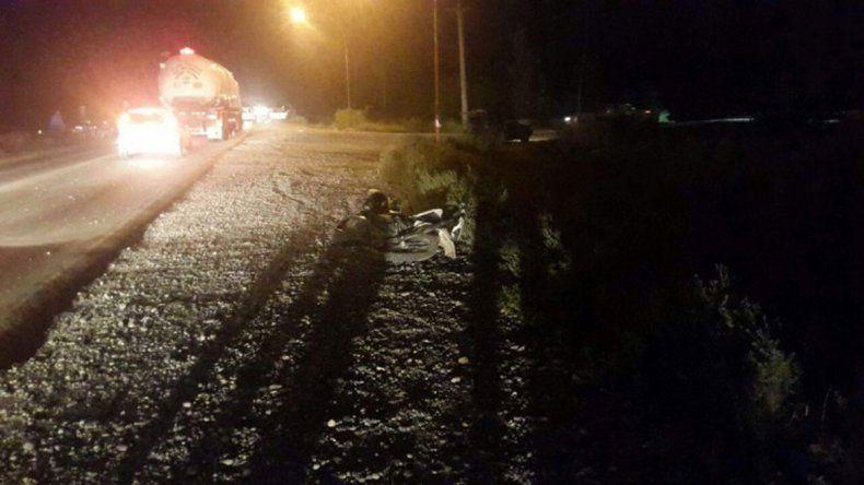 El choque ocurrió en la Ruta 151