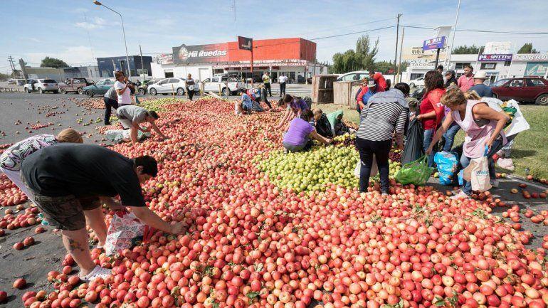 Productores del Alto Valle realizarán un Frutazo durante La Corrida de Cipolletti