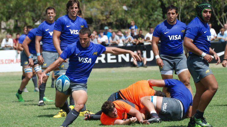 Nogueira viajó a Estados Unidos y Ushuaia con el equipo de Argentina XV.