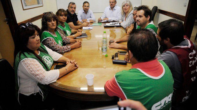 ATE participó por primera vez en la historia de la paritaria en Río Negro.