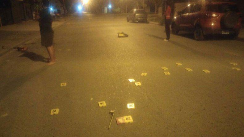 Terror en el barrio Brown por una lluvia de balas