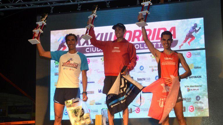 Tony Ruiz y Martina Escudero repitieron presencia en el podio.