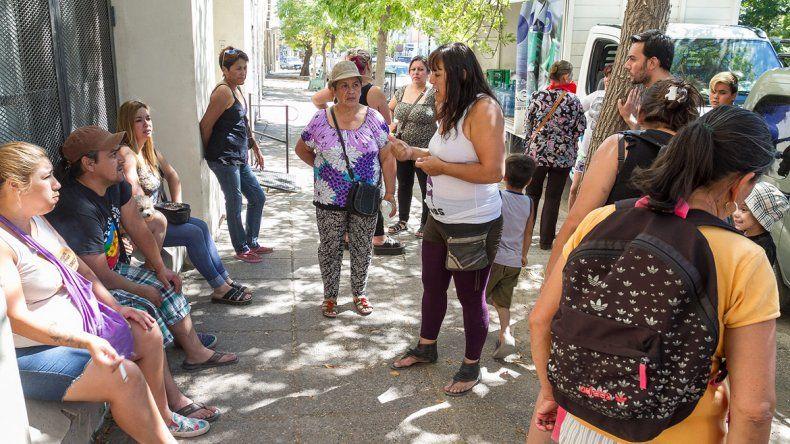 Organizaciones sociales exigieron justicia frente a los tribunales.