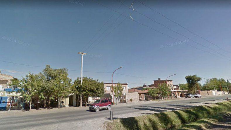La balacera ocurrió a metros del cruce de Circunvalación y Chile.