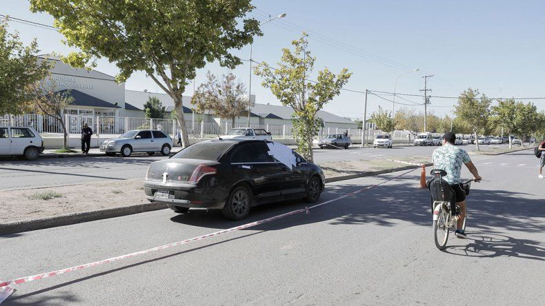 La Policía está atenta a una posible escalada de la violencia entre narcos y realiza permanentes controles. Ayer hallaron un revólver en un Citroën C4.