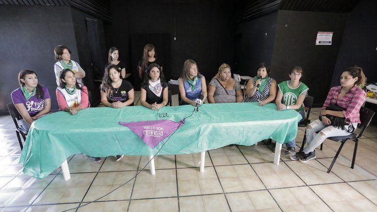 La Asamblea Ni Una Menos presentó las actividades que realizarán hoy.