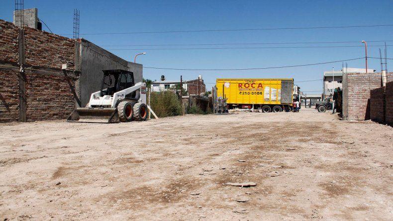 Ambos grupos familiares de Tres Luces podrán mudarse a casas prefabricadas