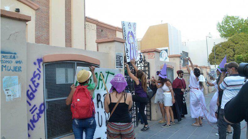 Las cipoleñas coparon las calles y alzaron la voz en el #8M