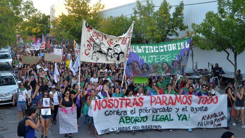 La Provincia no computará inasistencia a trabajadoras que participen del Encuentro Nacional de Mujeres