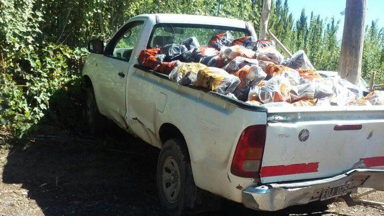 Un adolescente se robó una camioneta y protagonizó una persecución de película