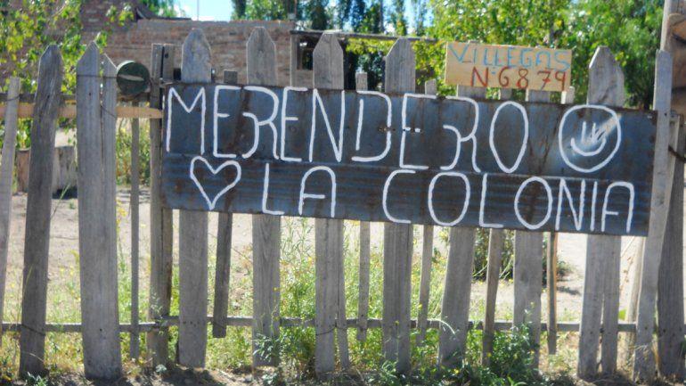 La Colonia es el último comedor inaugurado en General Roca gracias a la intervención de Lila Calderón.