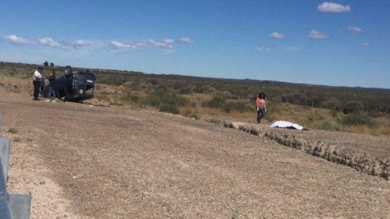 Un hombre de 39 años murió en un vuelco cerca de San Antonio Oeste