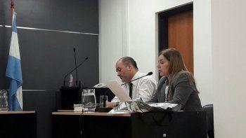 La fiscal Rita Lucía se encargó de la acusación contra el golpeador.