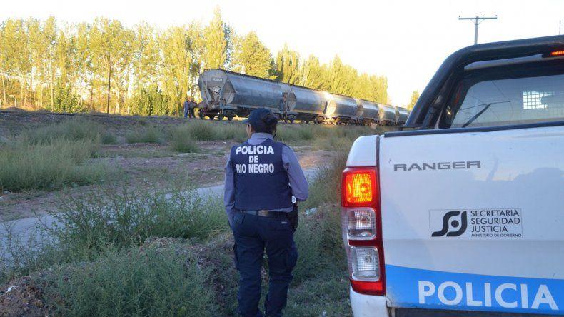 El accidente se produjo con un tren de cargas en Puente 83.