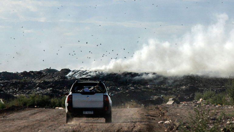 Los cipoleños respiraron humo tóxico una vez más