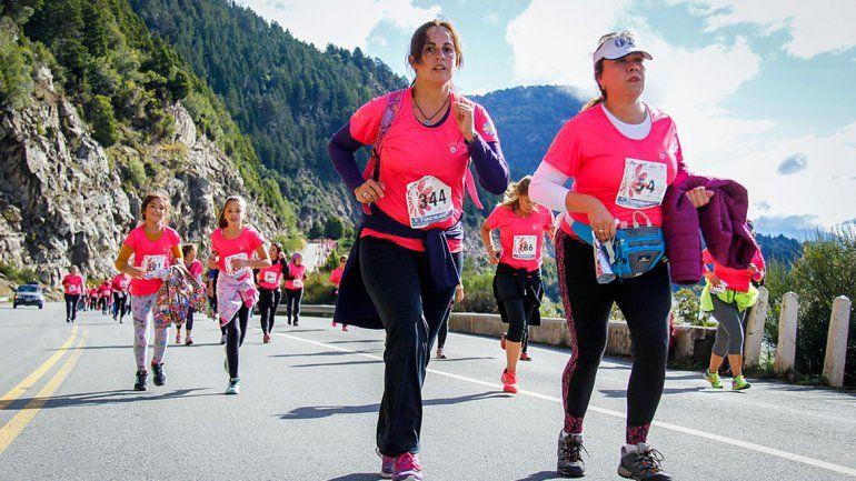 Mujeres Corren desembarcará en  el Parque Norte