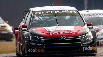 El nuevo Citroën C4 de Manu Urcera terminó roto en Buenos Aires.