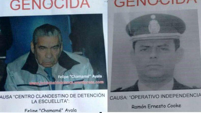 Denuncian que dos represores gozan de prisión domiciliaria en Bariloche