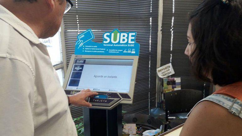 La SUBE se puede tramitar en Rentas y en la sede de Tránsito.