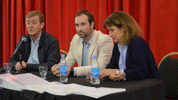 presentaron el plan director de agua potable para cipolletti