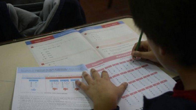 Río Negro mejoró sus notas en la evaluación Aprender