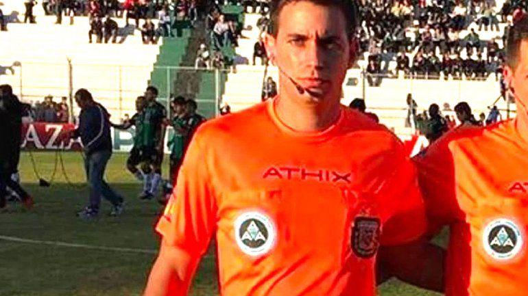Pidieron la captura internacional para el árbitro Martín Bustos